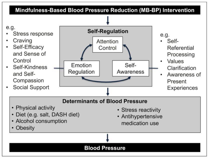 Tabell mindfulness och blodtryck